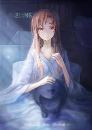 asuna waked up