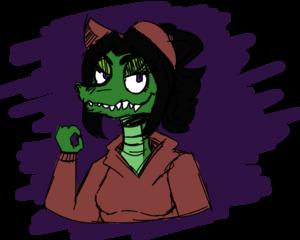 croc gurl