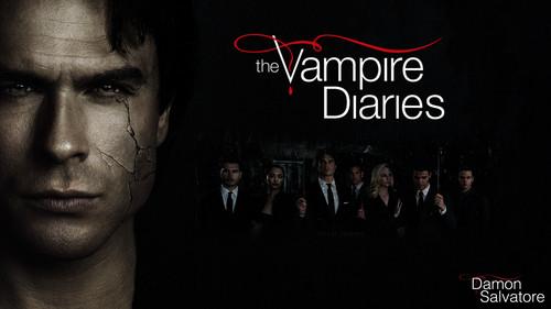 the vampire diaries wallpaper titled damon