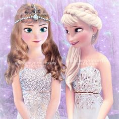 elsa and anna in modern dress