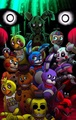 five nights at freddy s poster game 13 x 19