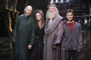 harry potter cast behind the scenes