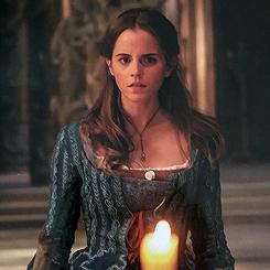 new scenes of Emma as Belle in BATB