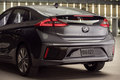 2017 Hyundai Ioniq Hybrid rear three quarter