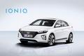 Hyundai Ioniq Hybrid front three quarter