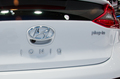 Hyundai Ioniq Plug In rear badge