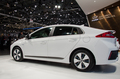 Hyundai Ioniq Plug In rear three quarter
