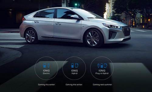 Hyundai Ioniq Plug-In Hybrid PHEV wallpaper called Hyundai IONIQ Side View