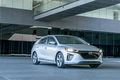 2017 Hyundai Ioniq EV front three quarter