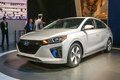 2017 Hyundai Ioniq Electric front three quarter
