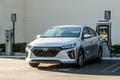 2017 Hyundai Ioniq EV charging - ioniq-ev fan art