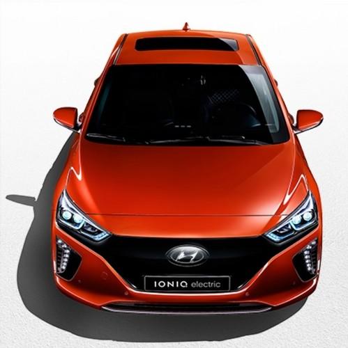 Ioniq EV wallpaper entitled Hyundai IONIQ Electric