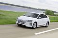 Hyundai IONIQ Electric front three quarter