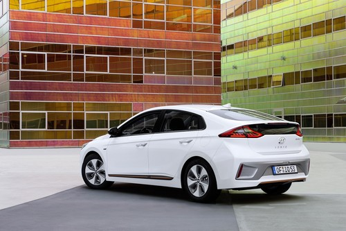 Ioniq EV wallpaper entitled Hyundai IONIQ Electric