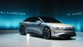 Lucid Air luxury sport autonomous electric sedan front show preview