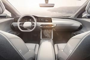 voice control interior Lucid Air luxury sport autonomous electric sedan