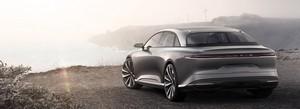 Lucid Air luxury sport autonomous electric sedan