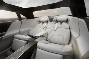 first class back seat Lucid Air luxury sport autonomous electric sedan