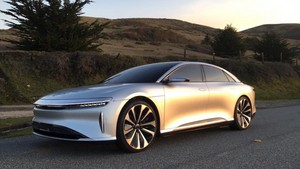 Lucid Air luxury sport autonomous electric sedan