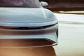 Lucid Air luxury sport autonomous electric sedan Lucid Motors Air front end