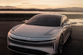 Lucid Air luxury sport autonomous electric sedan Lucid Motors Air front end 02