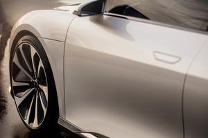 Lucid Motors Air front quarter panel Lucid Air luxury sport autonomous electric sedan