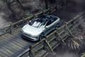 Lucid Motors Air front top view Lucid Air luxury sport autonomous electric sedan