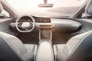 Lucid Motors Air interior Lucid Air luxury sport autonomous electric sedan
