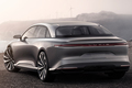 Lucid Motors Air rear Lucid Air luxury sport autonomous electric sedan