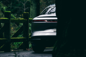 Lucid Motors Air rear end taillight Lucid Air luxury sport autonomous electric sedan