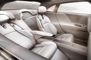 Lucid Motors Air rear interior seats reclining leg rest
