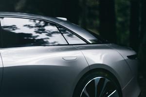 Lucid Motors Air rear quarter panel Lucid Air luxury sport autonomous electric sedan