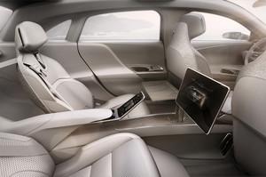 Lucid Motors Air rear screen reclining seatts