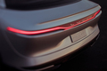 Lucid Motors Air rear taillight illuminated Lucid Air luxury sport autonomous electric sedan