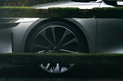 Lucid Air wallpaper called Lucid Motors Air front wheels