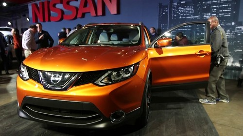 Nissan Rogue Sport wallpaper called Nissan Rogue Sport 2017