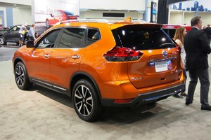 2017 Nissan Rogue Sport Live Photo Rear