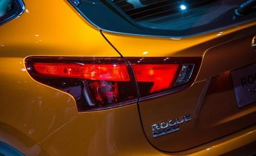 Nissan Rogue Sport wallpaper called 2017 Nissan Rogue Sport back light