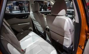 2017 Nissan Rogue Sport back interior