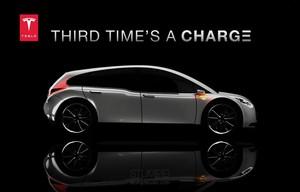 Tesla Model 3 Render via Stumpf Studio
