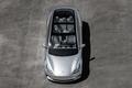 2017 Tesla Model 3 top view interior seats