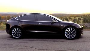 black side 2018 Tesla Model 3 70D AWD electric sport sedan