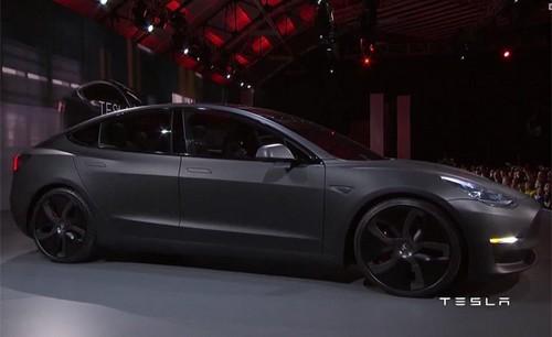 Tesla Model 3 70D AWD wallpaper called matte black matt gray black wheels murdered out 2018 Tesla Model 3 70D AWD electric sport sedan