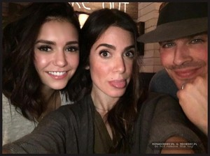 Nina, Nikki and Ian