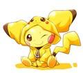 pichu in pikachuhru? onsie - pikachu photo