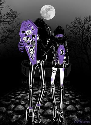 spooky scary skeletons da koffinkorps d9c9khf