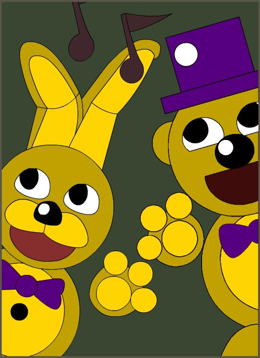 springbonnie and fredbear sa pamamagitan ng kiwigamer450 d9gsij9