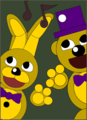 springbonnie and fredbear द्वारा kiwigamer450 d9gsij9