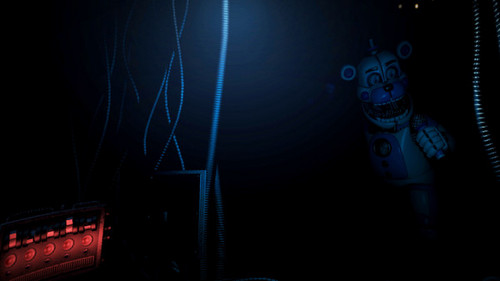 Five Nights at Freddy's wallpaper called funtime freddy