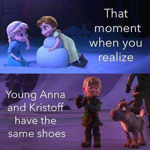 young anna and kristoff